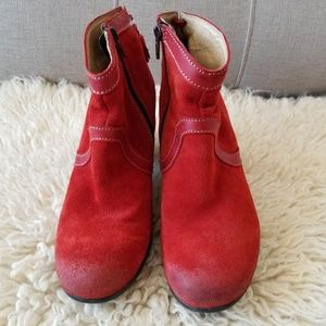 Fly London Booties, 39, Made in Portugal